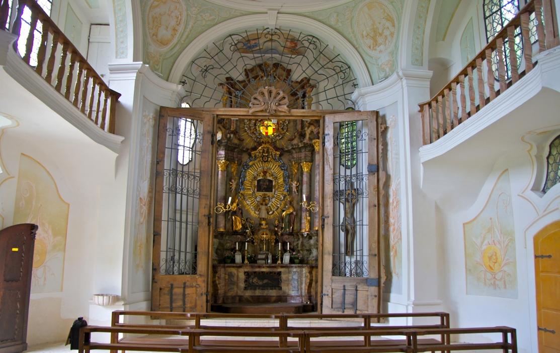 Innenansicht der Herrgottsruh-Kapelle Lauingen