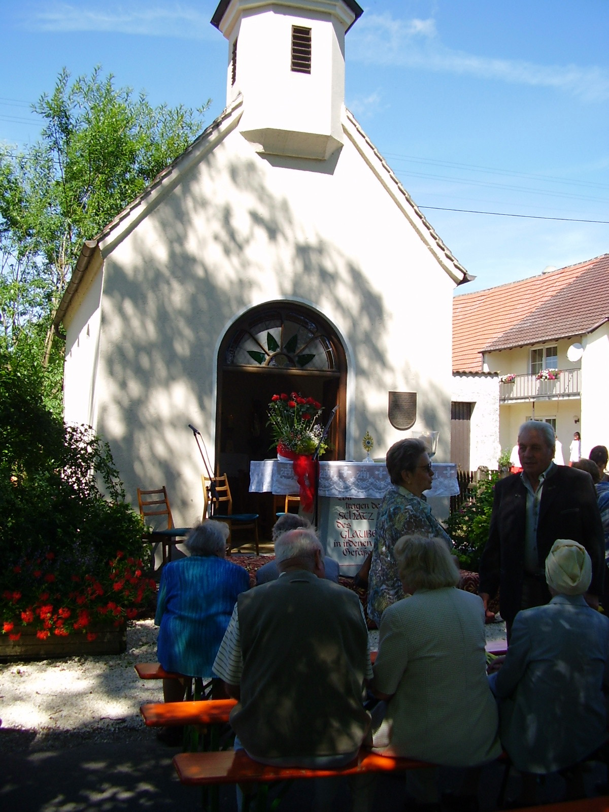 Kapelle bei den Birkacherhöfen in Lauingen