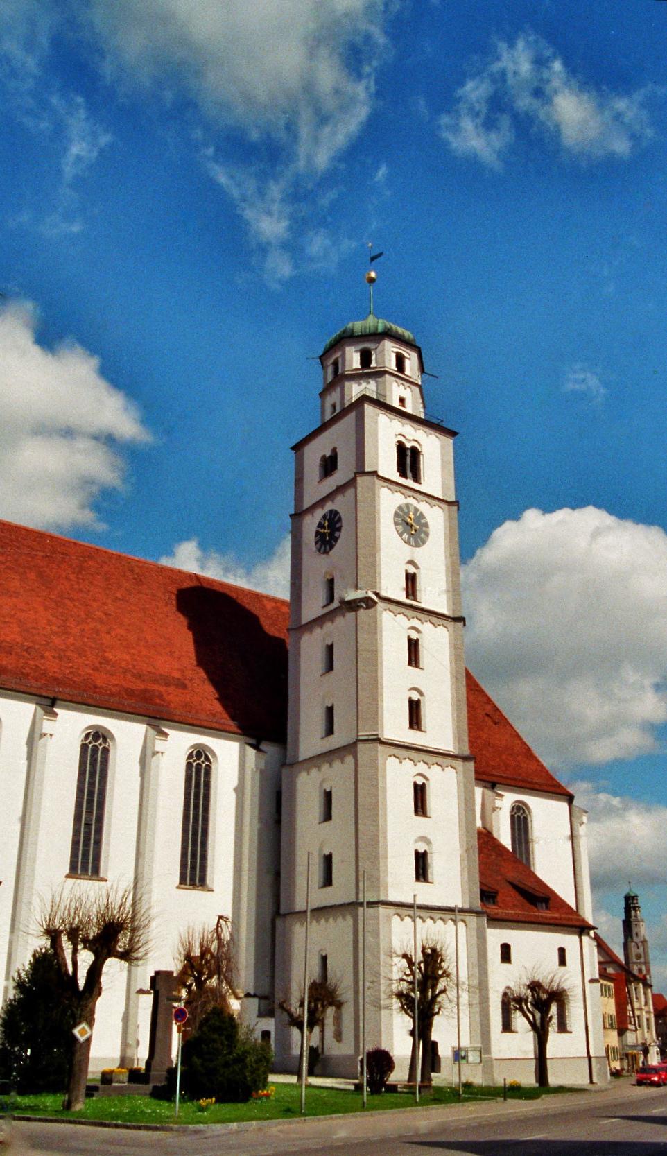 Der Glockenturm des Martinsmünsters