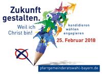 Logo für die Pfarrgemeinderatswahl 2018