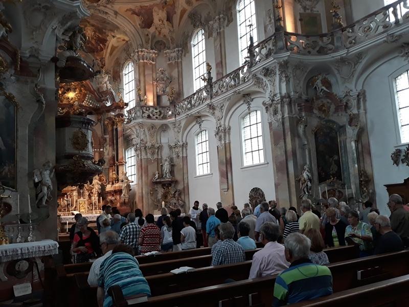 Benefizfahrt an den Bodensee zugunsten der Orgelsanierug