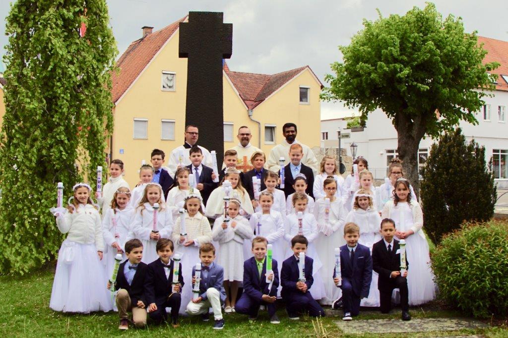 Feier der Erstkommunion 2019