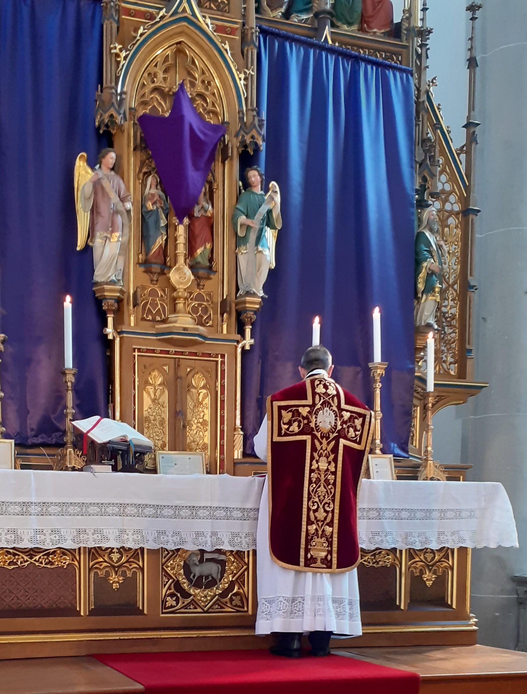 Hl. Messe am Palmsonntag