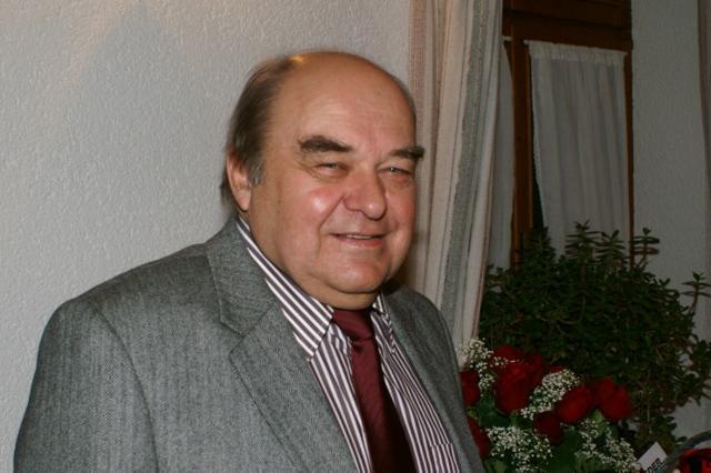 Chorleiter Heinrich Speer