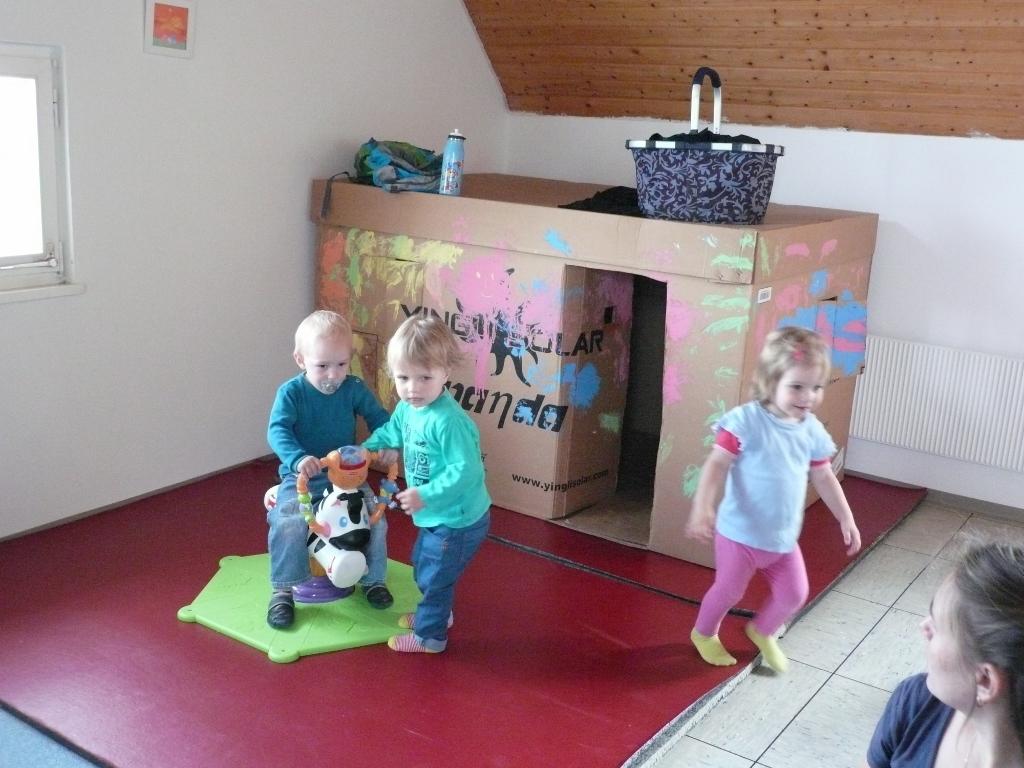Kinder in Action