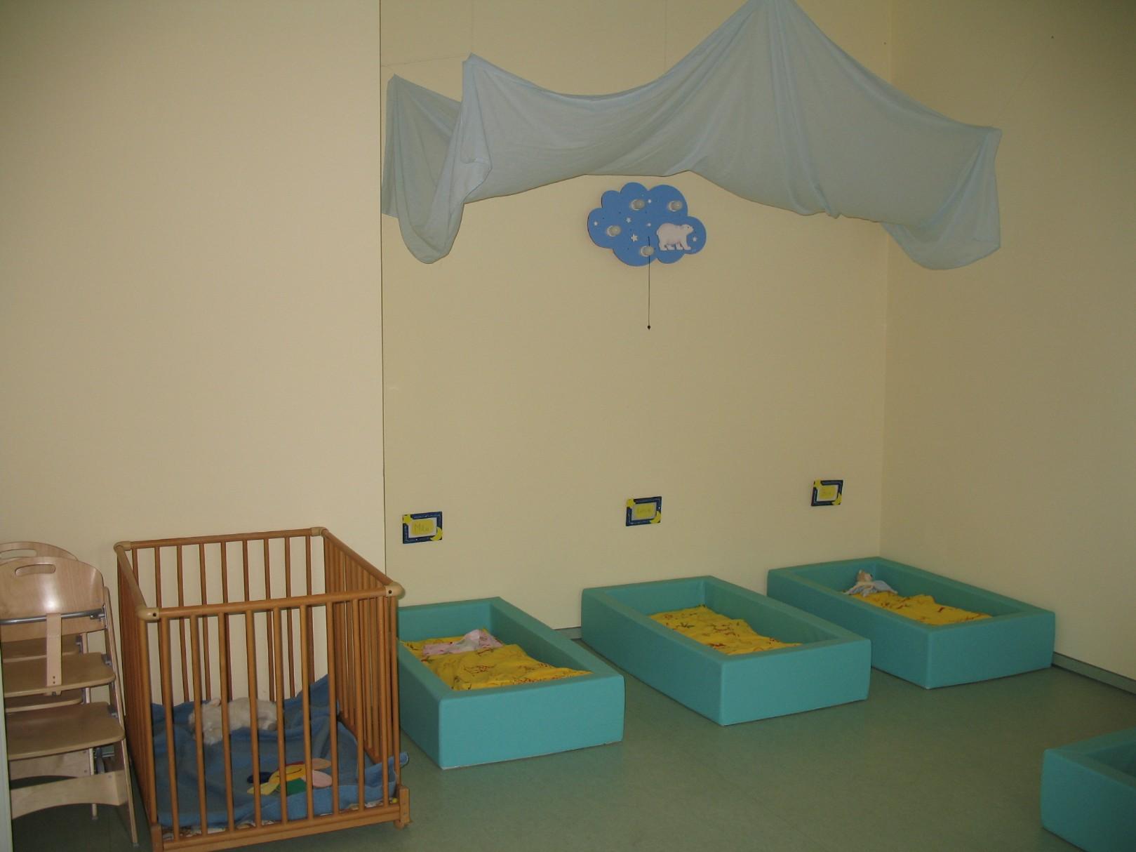 Schlafnester in der Kinderkrippe