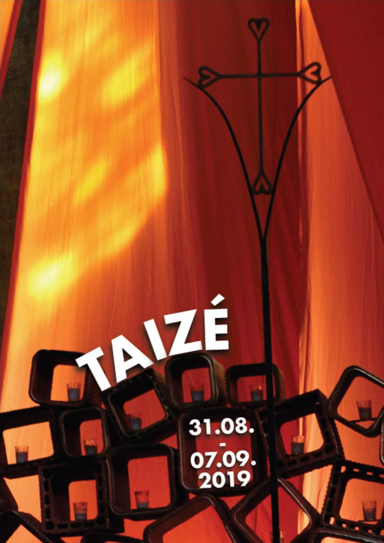 Auf nach Taizé vom 31.8. - 7.9.2019