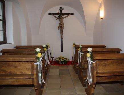 Die Armen-Seele-Kapelle in der Pfarrkirche St. Magnus Kühbach