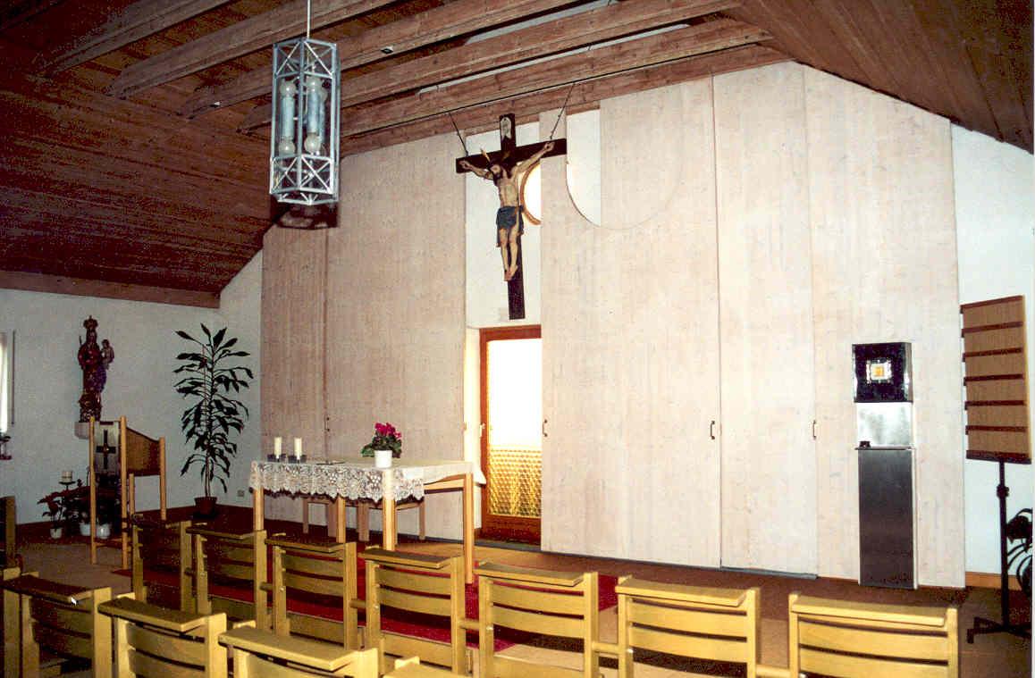 """Hauskapelle """"St. Pius"""", Kühbach"""