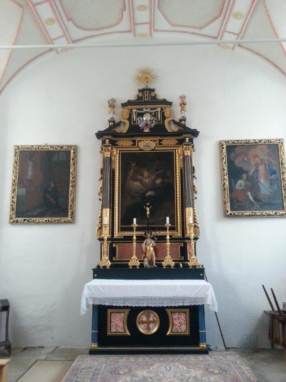 "Kirche ""St. Johannes d. Täufer"" in Winden, Innenansicht - Foto: Winfried Hermann"