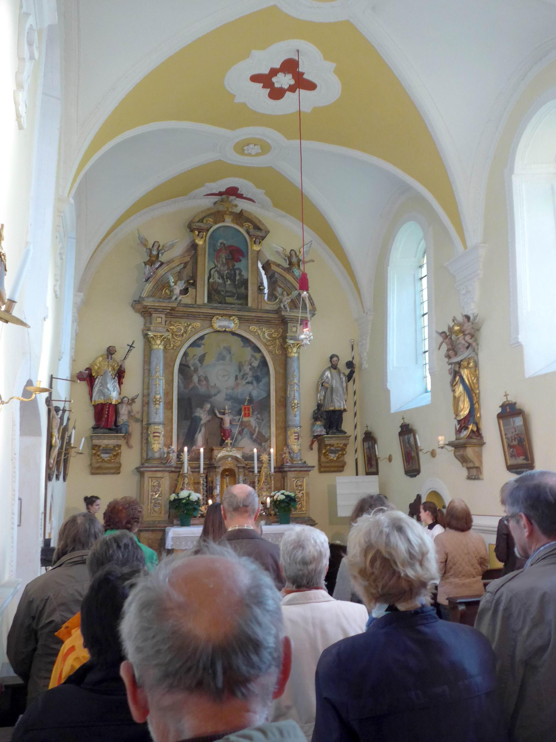 Schlosskapelle Haslangkreit / Foto: Michael Richter