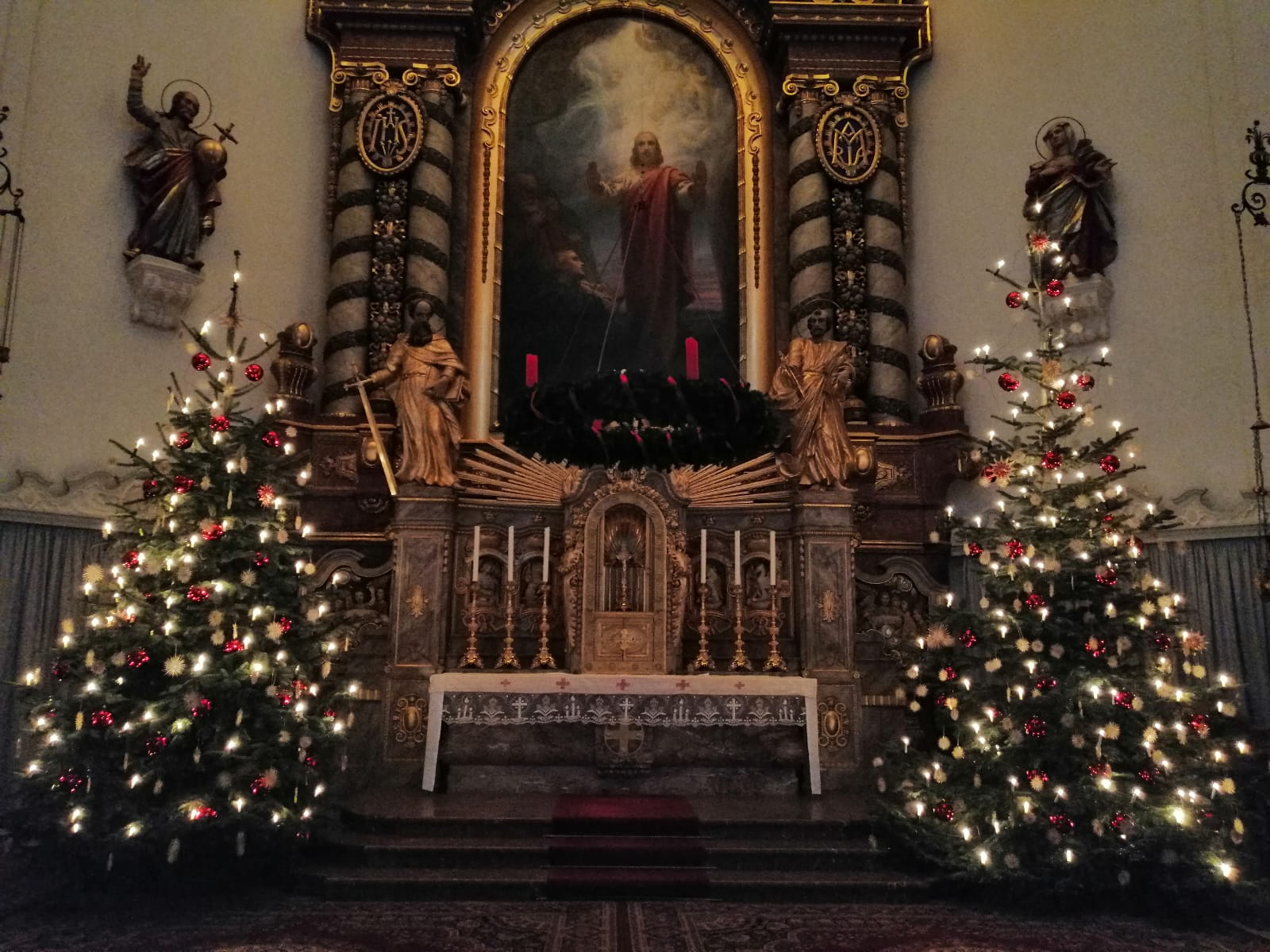 Gottesdienst-Anmeldungen für Weihnachten