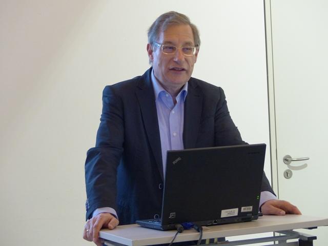 Hielt den Gastvortrag: Prof. Detlef Pollack