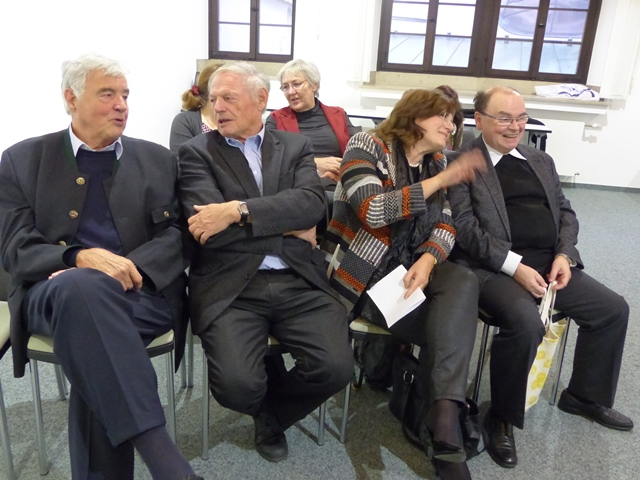 Gespräche am Rande der Tagung: katholische Teilnehmer