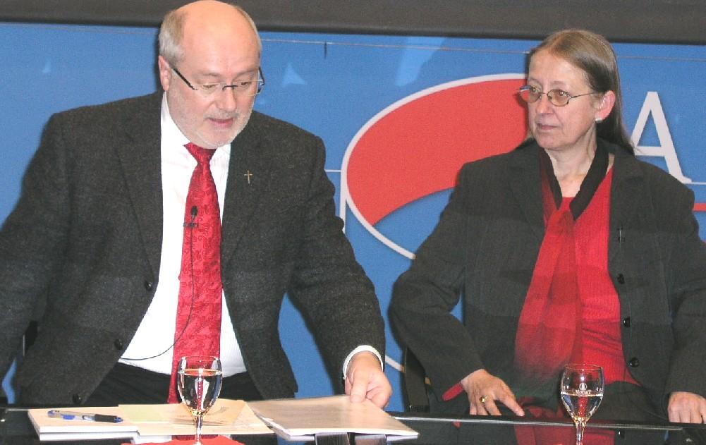 Prof. Dr. Adalbert Keller im Gespräch mit Prof. Dr. Maria Neubrand