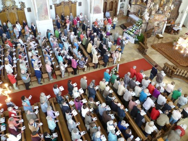 Bericht von der Seniorenwallfahrt der Seniorenkreise nach Maria Steinbach